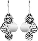 Lagos Sterling Silver Signature Caviar Four Drop Earrings