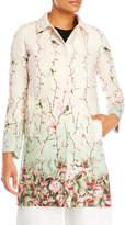 Mantu Floral Single-Breasted Coat