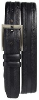 Mezlan Men's Saffiano Leather Belt