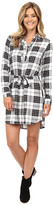 U.S. Polo Assn. Long Sleeve Plaid Dress