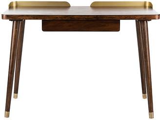 One Kings Lane Habner Desk - Espresso
