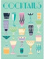 Garnier Thiebaut Garnier Thiebaut, Cocktails, Blue, Printed French Kitchen / Tea Towel, 100 Percent Cotton, 22 In x 30 In