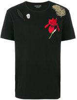 Alexander McQueen embroidered T-shirt