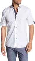 Maceoo Fresh Circle Short Sleeve Regular Fit Shirt