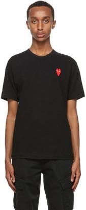 Comme des Garcons Black Long Heart T-Shirt