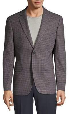 Tommy Hilfiger Grid Notch Lapel Sportcoat