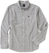 RVCA Slim Fit That ll Do Plaid Long-Sleeve Shirt