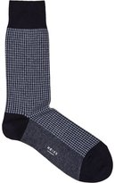 Reiss Brenta Houndstooth Socks