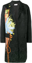 Dries Van Noten rolt floral brocade coat