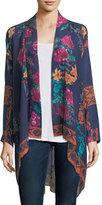 Johnny Was Wilimina Floral-Print Kimono, Plus Size