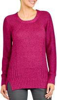 Haggar Women's Hagger Sweater with slit detail