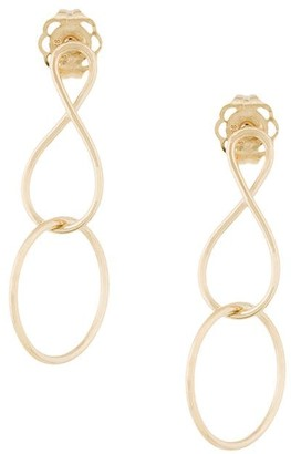 NATASHA SCHWEITZER mini Infinity Twist earrings