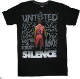 Majestic NBA 'Critics Haters' Short Sleeve Tee-XXL