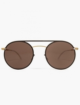 Mykita Dark Brown Roald Sunglasses