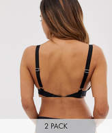 Asos 2 Pack Adjustable Low Back Bra Converters