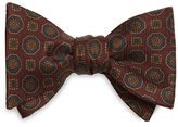 Brooks Brothers Ancient Madder Medallion Bow Tie