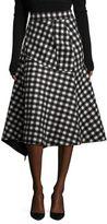 Aquilano Rimondi Wool Checked Skirt