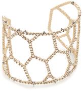 Alexis Bittar Honeycomb Frame Cuff Bracelet