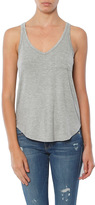 Chaser Cool Jersey Double V Shirttail Pocket Tank
