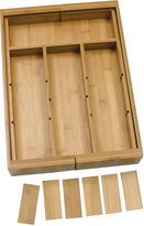 Lipper Bamboo Expandable Organizer with Removable Dividers