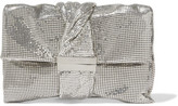 Jimmy Choo Chandra Chainmail Clutch - Silver
