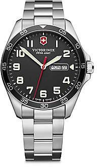 Victorinox Men's Field Force Stainless Steel Bracelet Watch