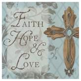 Thirstystone Faith, Hope, Love Cross