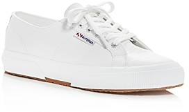 Superga Women's Leather Low-Top Sneakers