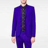 Paul Smith Men's Slim-Fit Indigo Wool-Hopsack Blazer