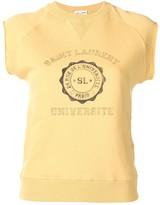 Saint Laurent Sleeveless Logo Top