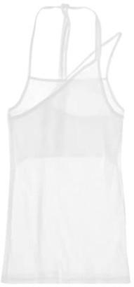 Helmut Lang Asymmetric Rib Slip Tank Top