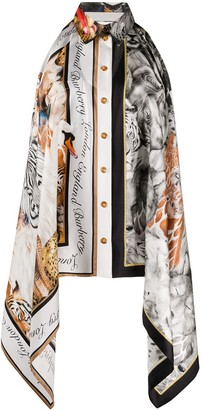 Burberry Animalia print bodysuit