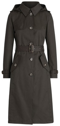 Ralph Lauren Cotton-Blend Long Trench Coat