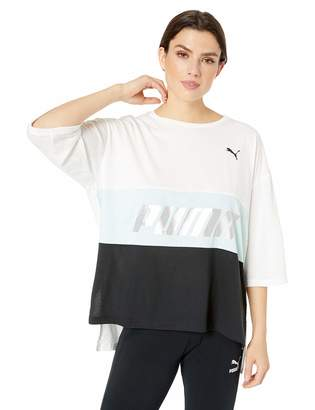 Puma Women's Modern Sports Boyfriend Tee Shirt