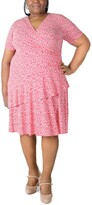 Thumbnail for your product : Robbie Bee Plus Size Ruffled Fit & Flare Dress