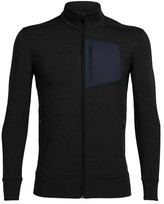 Icebreaker Men's Momentum Long Sleeve Zip Jacket
