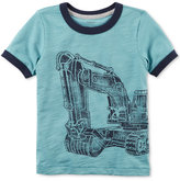 Carter's Construction Graphic-Print T-Shirt, Little Boys (5-8)