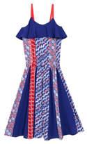 Kenzo 8-12Y Balzane Print Dress