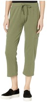 Alternative Terry Cropped Utility Pants (Army Green) Women's Casual Pants