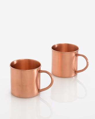 Express Shiraleah Boris Copper Mugs