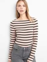 Gap Stripe long sleeve modern boatneck