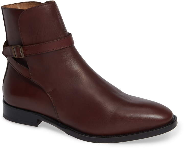 Vince Camuto Hop Buckle Strap Boot