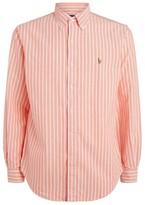 Ralph Lauren Custom Fit Striped Oxford Shirt