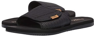 Flojos Duke (Black Weave) Men's Sandals
