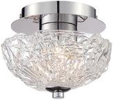 Eurofase Caramico Collection Chrome Flushmount