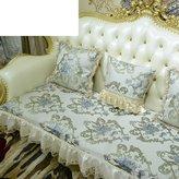 JIN Sofa mats Sofa ushions,luxury anti-skid leather ushion