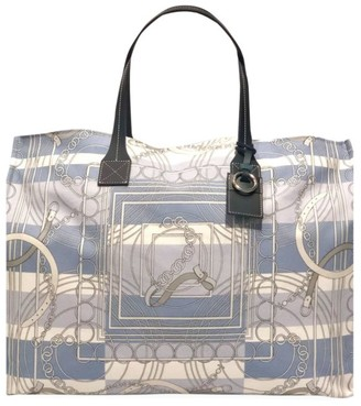 Rani Arabella Chain Print Canvas Tote Bag