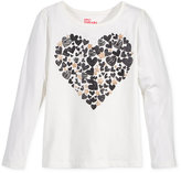 Epic Threads Mix and Match Heart Graphic-Print Long-Sleeve T-Shirt, Toddler Girls (2T-5T) & Little Girls (2-6X), Only at Macy's