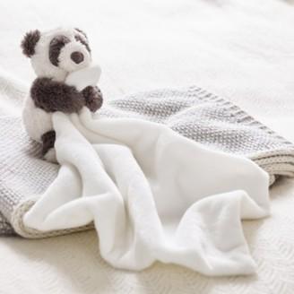 The White Company Panda Comforter. One Size. Grey/White