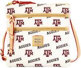 Dooney & Bourke Texas A&M Aggies Triple-Zip Crossbody Bag